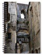 Split Croatia's Old Town Spiral Notebook