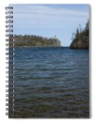 Split Rock Lighthouse 86 Spiral Notebook