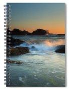 Splitting The Gap Spiral Notebook