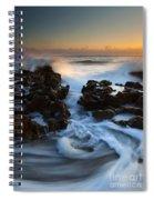Splitting The Reef Spiral Notebook