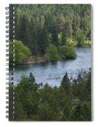 Spokane River Scene 2 Spiral Notebook