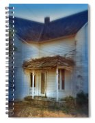 Spooky Old House Spiral Notebook