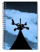 Spooky Silhouette Spiral Notebook