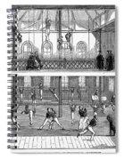 Sports: Gymnastics, 1859 Spiral Notebook