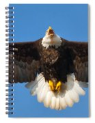 Spread Eagle Spiral Notebook