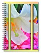 Spring Again Triptych Series Spiral Notebook