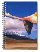 Spring Break Spiral Notebook