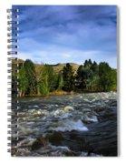 Spring Flow Spiral Notebook