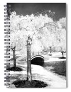 Spring In Infrared Spiral Notebook