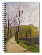 Spring Landscape Spiral Notebook