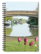 Spring On The Oxford Canal Spiral Notebook
