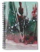 Spring Snowfall  Spiral Notebook