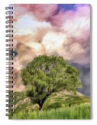 Spring Storm In Tuscany Spiral Notebook