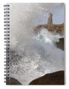 Spring Tide Spiral Notebook