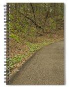 Spring Trail Scene 4 Spiral Notebook