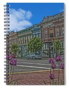Spring Tulips Downtown Georgetown Spiral Notebook