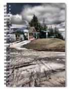 Springing Forward Spiral Notebook