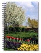 Sprung Spring Spiral Notebook