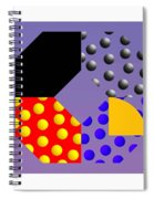 Square Dance Spiral Notebook