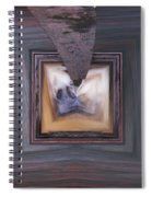 Squared Stream Spiral Notebook