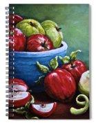 Srb Apple Bowl Spiral Notebook