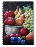 Srb Fruit Bowl Spiral Notebook