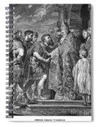 St. Ambrose & Theodosius Spiral Notebook