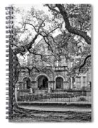 St. Charles Ave. Mansion Monochrome Spiral Notebook