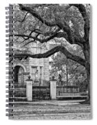 St. Charles Ave. Monochrome Spiral Notebook