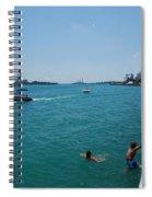 St. Clair River Boardwalk Spiral Notebook