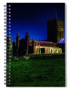 St Davids Cathedral Pembrokeshire Glow Spiral Notebook