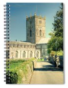 St Davids Cathedral Pembrokeshire Lomo Spiral Notebook