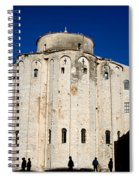 St. Donatus Church In Zadar Spiral Notebook