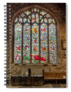 St Dyfnog Spiral Notebook