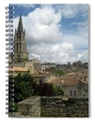 St Emilion Village Spiral Notebook