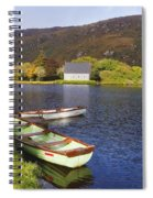 St. Finbarres Oratory And Rowing Boats Spiral Notebook