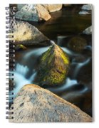 St Francis River At Dusk II Spiral Notebook