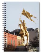 St. Joan At Dawn Spiral Notebook
