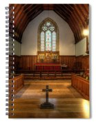 St John's Church Altar - Filey  Spiral Notebook