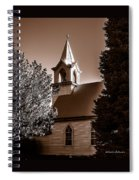 St. John's Lutheran Church In The Trees Spiral Notebook