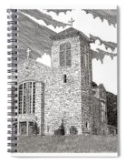 St. Joseph Apache Cathedral Spiral Notebook