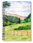 St. Kevin's And Wicklow Mountians Spiral Notebook