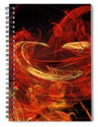 St Louis Abstract Spiral Notebook
