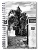St Louis Cemetery Gate - New Orleans Spiral Notebook