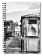 St Louis Cemetery - New Orleans Spiral Notebook