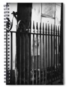 St Louis Cemetery Number One Tombs And Wrought Iron Spiral Notebook