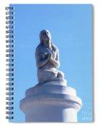 St. Louis Cemetery Statue 1 Spiral Notebook