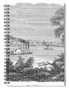St. Louis, Missouri, 1847 Spiral Notebook