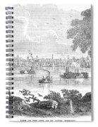 St. Louis, Missouri, 1854 Spiral Notebook