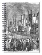 St. Louis: Steamboats, 1857 Spiral Notebook